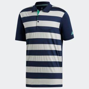 Adidas Ultimate 365 Rugby Bold Stripe Golf Polo *M